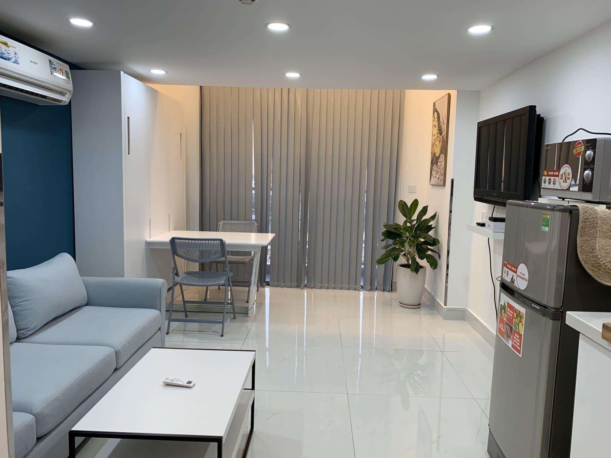 Cho thuê Officetel duplex Masteri Millennium, Quận 4, 13 triệu/ tháng.