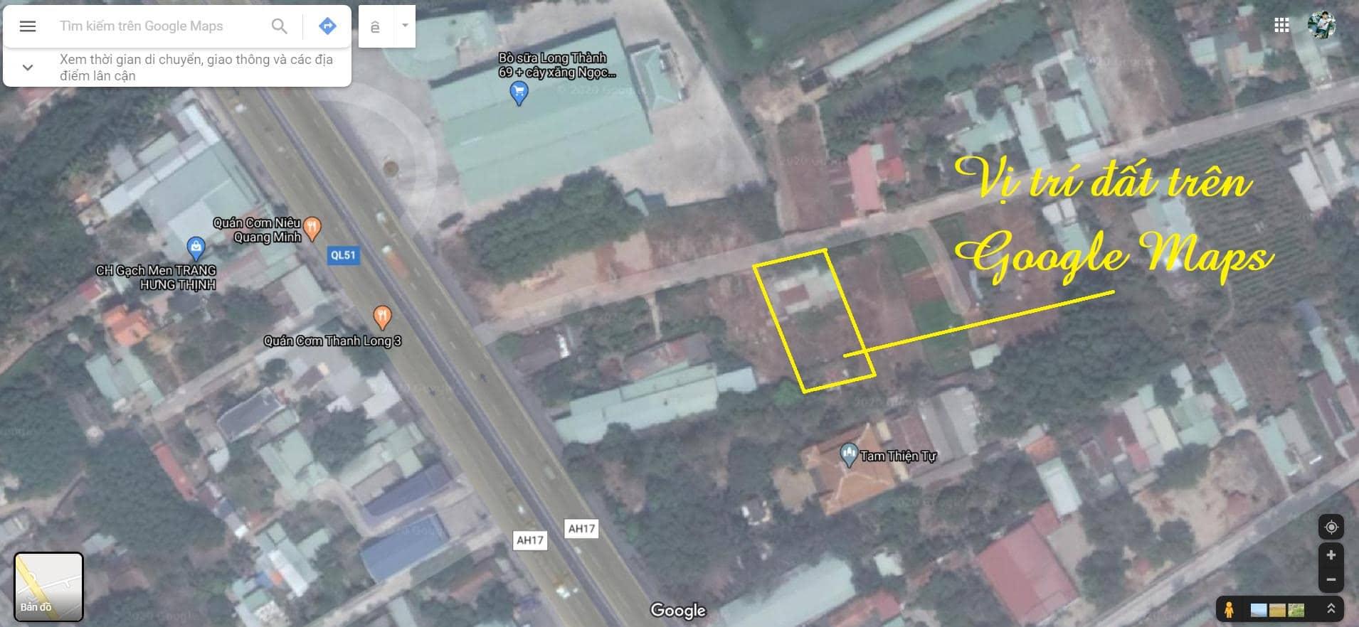 Đất nền Phước Thái, Long Thành – 1236,2 m2 (có sẵn thổ cư)