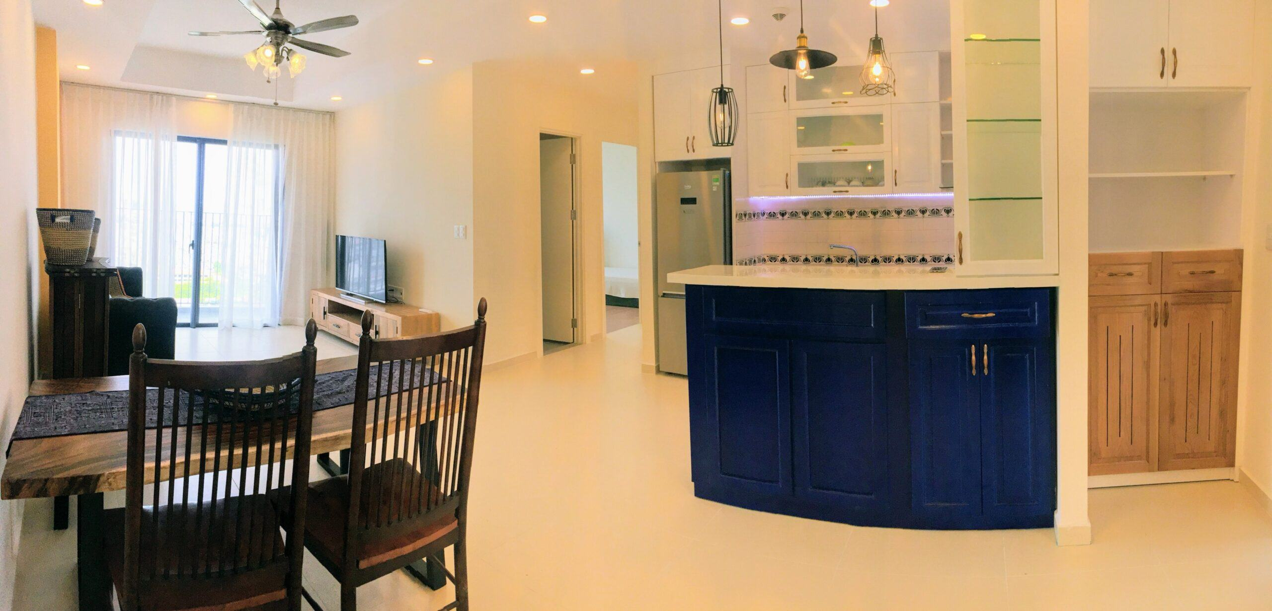 Cho thuê căn hộ M-One Full nội thất 3 PN diện tích 93m2 có thương lượng cho khách dễ thương