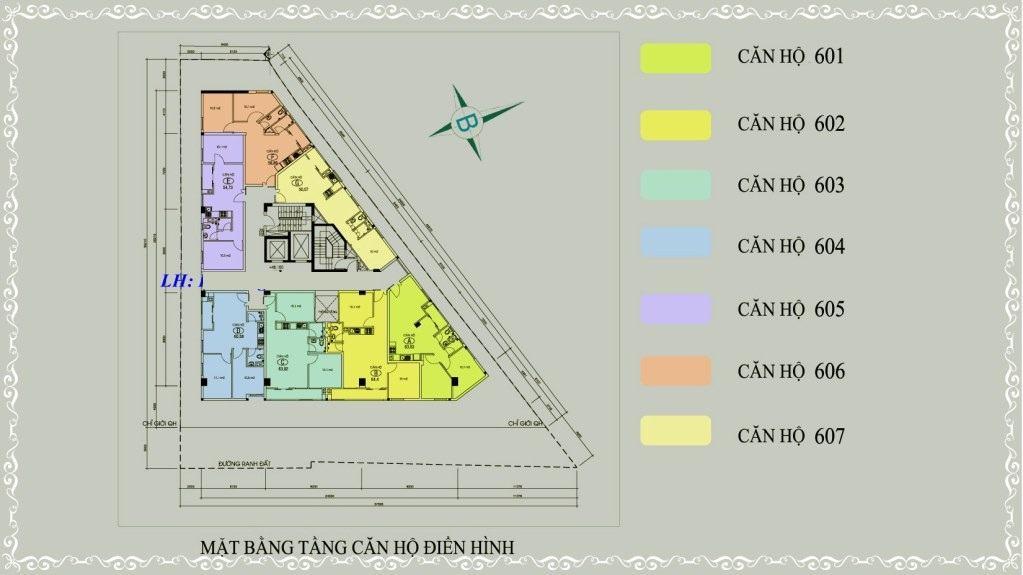 1 mat bang du an Ngoc Khanh Tower