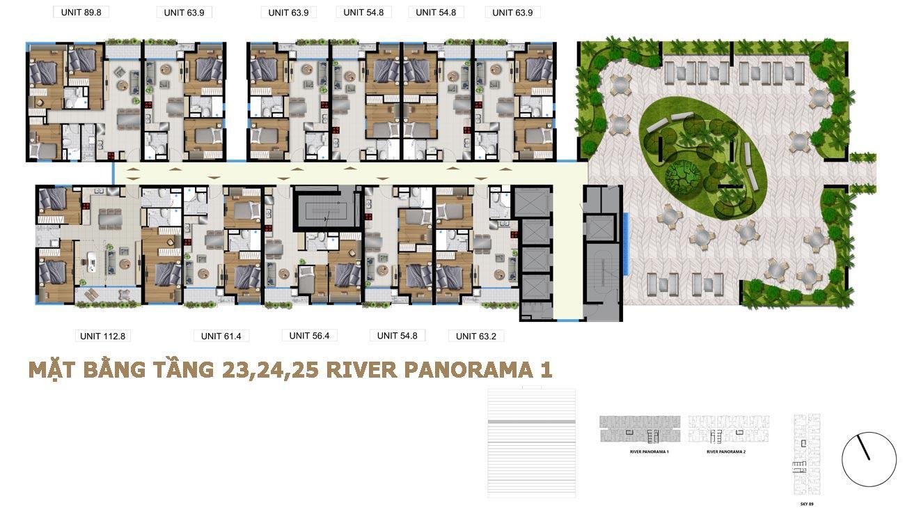 MAT BANG CHUNG CU RIVER PANORAMA 4