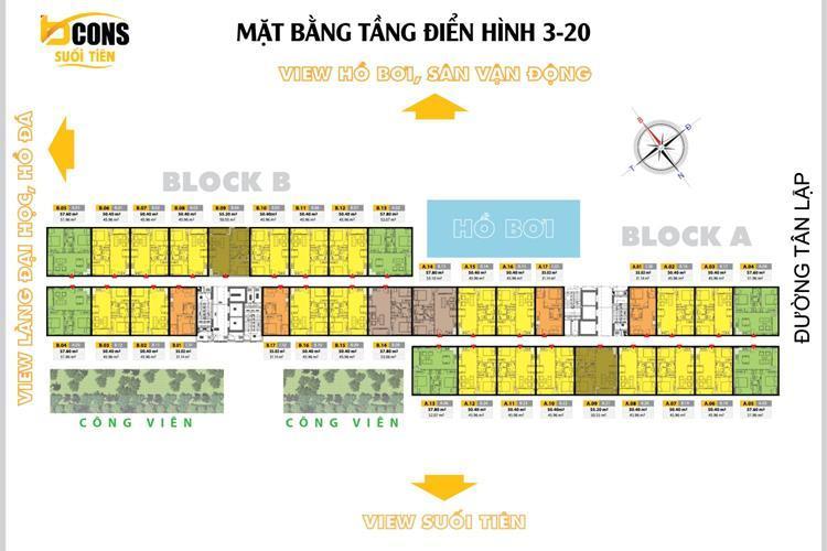mat bang tang bcons suoi tien